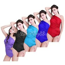 Women's One Piece Mesh Silhouette Swimwear Beachwear Summer Bathing Plus Size