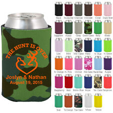 Personalized custom can koozies wedding favor Coolies quick turnaround (1429)