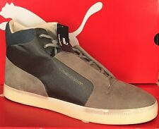 PUMA HUSSEIN CHALAYAN GLIDE II MID-Mens Casual New Shoes-Gray-354468 03