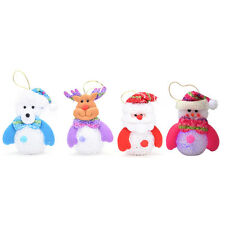 Christmas Snowman Cute Ornaments Festival Party Xmas Tree Hanging Decoration YY