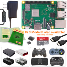 NEW LOW PRICES! Raspberry Pi 3 Model B+ (Plus) Starter, Complete & Ultimate Kits