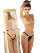 Sharon Sloane Latex Rubber Open Back Panty