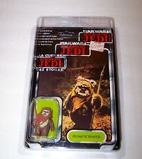Vtg Sealed Wicket Warrick Star Wars ROTJ Action Figure 70 Card 1983 Hong Kong