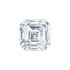 Asscher Cut Forever One® Moissanite Loose Stone Charles & Colvard®