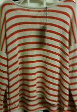 Marks & Spencer Limited Collection Stripy  Dressy Sweater Size 18 BNWT