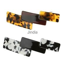 Women Accessories Solid Arcylic Hair Clip Barrette Fashion Headwear Jewelry
