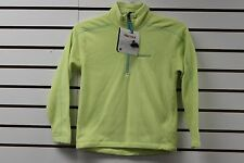 Marmot Girl's Rocklin 1/2 Zip Fleece Sweater Citrus Ice 89020 Brand New With Tag