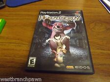 HERDY GERDY - Sony PS2 Game! Playstation 2 (NO MANUAL)