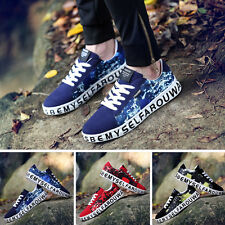 Comfortable Casual Flats Fashion Shoes Men New Low Top Lace Up Trendy Breathable