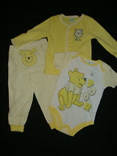 "DISNEY  WINNIE THE POOH 3 piece set NWTS ""CHECK OUT MY BACKSIDE!!!"