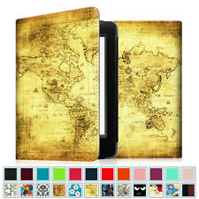 """Smart Leather Case for Kindle 8th Generation Cover Amazon All-New Kindle 6"""" 2016"""