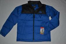 THE NORTH FACE MENS NUPTSE JACKET BLACK  BLUE M MEDIUM  BRAND NEW AUTHENTIC