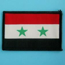 Syria Syrian Republic Flag Sew on Motif Applique Badge Embroidered Country Cute