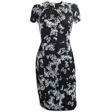 Brand New Ladies Next Size 10 12 14 16 18 20 Butterfly Print Dress Black & White