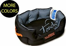 Performance-Max Water Resistant Sporty Cushioned Designer Pet Dog Bed Beds
