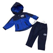 Ecko Unltd Infant Boys 2 Piece Fleece Sweatsuit 12-24 months Outfit Blue Jacket