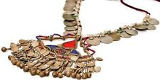 TRIBAL BANJARA KUCHI COINS RARE BELLY DANCE VINTAGE GYPSY NECKLACE