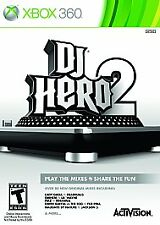 Microsoft Xbox 360 - DJ Hero 2 - (Game Only) Brand New - Sealed