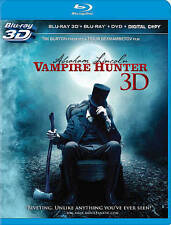 Abraham Lincoln: Vampire Hunter (Blu-ray/DVD, 2012, 3-Disc Set, Includes...