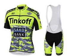 SAXO Replica Cycling Jersey and Bib Short Set Racing Pro