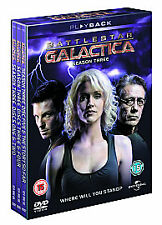Battlestar Galactica: Season 3  DVD Edward James Olmos, Mary McDonnell, Katee Sa