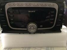 FORD SONY CD MP3 Player Radio Car Stereo Head Unit (Generation 2) With Code