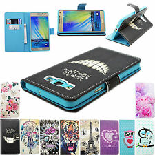 Stand PU Leather Wallet Pouch Cover TPU Case For Multiple Samsung Sony Phones