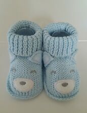 Crochet Knitted Cotton Baby Girl Boy Booties Newborn up to 3 Months - Carter's