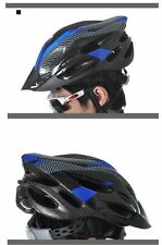 Adult Mens Helmet Bike Bicycle Cycling Carbon Red Color Mountain Outdoor