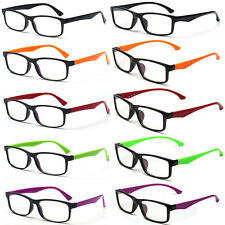 2 Style Unisex Clear Lens 6 Colors Black Square Frame Eyewear Fashion Sunglasses