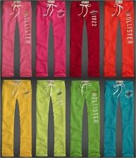 HOLLISTER BY ABERCROMBIE WOMENS SWEATPANTS SKINNY NWT CALIFORNIA CLASSIC LOUNGE