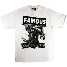Famous Stars and Straps My Rules T-shirt White Black