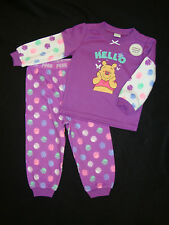 "DISNEY WINNIE THE POOH 2 PIECE SET  NWTS ADORABLE ""HELLO"""