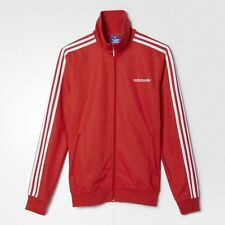 Germany Beckenbauer Adidas Originals Jacket Red Retro Soccer Football -  Adidas