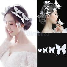Bridal Animal Handmade Butterfly Hairpin Hair Clips Barrette Pack of 4 Pcs