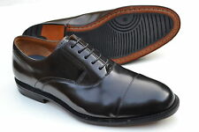 Clarks Mens Formal Shoes Dorset Boss Black Hi-shine Leather / Wide Fit / RRP £95