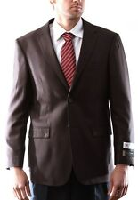 Prontomoda Europa, Men's Silk Wool Cashmere Brown Sport Coat, #J74012S-74064