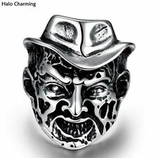 Top Quality Fashion Jewelry Punk Cowboy 316L Stainless Steel Decoration Ring Men