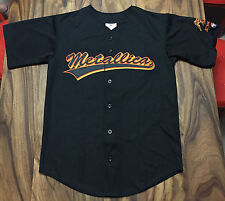 Metallica - 30th Anniversary - San Francisco Giants Jersey LARGE (NEW) Black