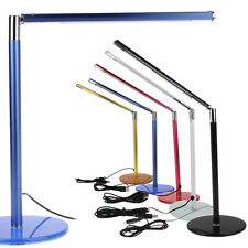 Simple Practical 24 LEDs Desk Table Lamp Toughened Glass Base for Home Office #2