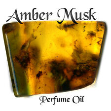 #1 Amber Musk Scent Fragrance Oil - Perfume Incense Candles Crafts Making Supply