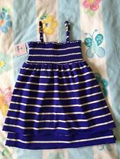 JUICY COUTURE Kids Mini Intersection Smocked Striped Dress NWT XS S M L K63519