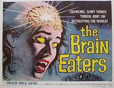 The Brain Eaters Vintage Movie Poster Print Wallart A4, A3, A2