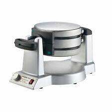 Double Belgian Waffle Maker Kitchen Breakfast Iron Machine Baker Cooking Cone