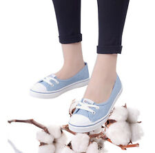 Summer Shallow Mouth Woman Casual Shoes Comfortable Causal Slip On Canvas