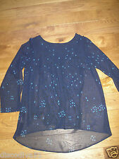 BNWT LADIES 2 PIECE TOP PLUS SIZE 22 24 VEST TOP WITH OVER LAYER 2 PIECE NEW £16