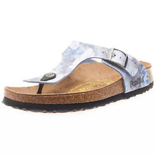 Birkenstock Gizeh Birko-flor Silky Womens Sandals Floral New Shoes