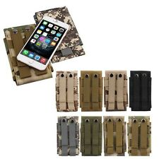 Universal Army Tactical Bag Case Pouch Belt Loop Hook Holster For Mobile Phones