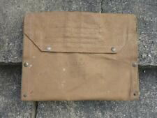 WWII British Military Army Dispatch Rider's Canvas Webbing Map Case Board 1941