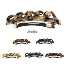 Daily Acrylic Leopard Print Spring Hair Clip Pin Barrette Fashion Headwear Women